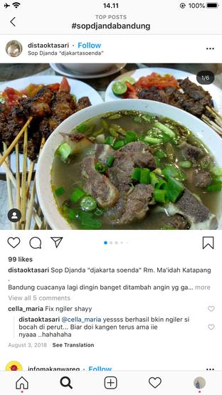 Foto - Makanan di Sop Djanda oleh Wina Rahayu
