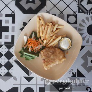 Foto 2 - Makanan(Fish N Chips ) di Aps3 Social Hub - Kampi Hotel oleh Prita Hayuning Dias