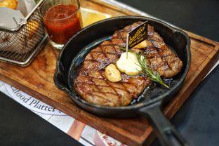 Foto 4 - Makanan(US Black Angus Sirloin) di Justus Steakhouse oleh Fadhlur Rohman