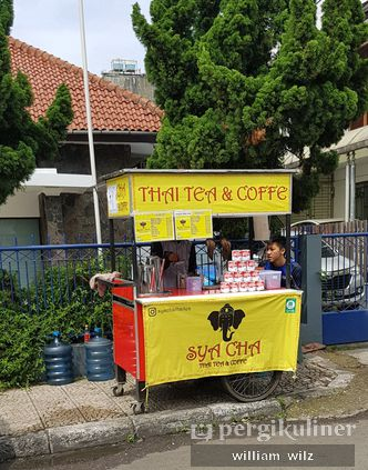 Foto Eksterior di Sya Cha Thai Tea & Coffee