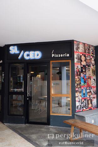 Foto 3 - Eksterior di Sliced Pizzeria oleh Illya Adista