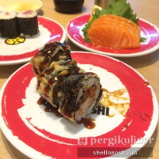 Foto 2 - Makanan(Crunchy Nori Roll) di Genki Sushi oleh Shella Anastasia