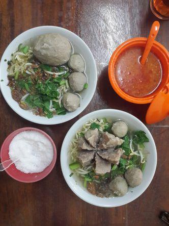 Foto Makanan di Bakso Sapi Ratno