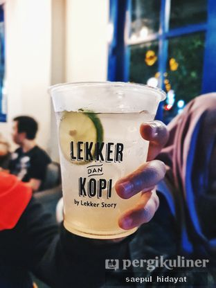 Foto 4 - Makanan(Es Jeruk Nipis) di Lekker Dan Kopi oleh Saepul Hidayat