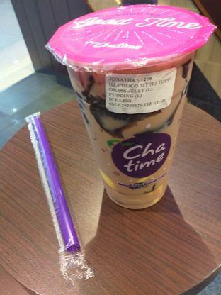 Foto 4 - Makanan(Hazelnut Choco Milk Tea) di Chatime oleh Jonathan Kristian