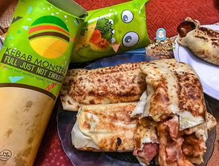 Foto - Makanan di Kebab Monster oleh @Foodbuddies.id | Thyra Annisaa