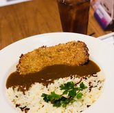Foto brown curry with katsu di Go! Curry