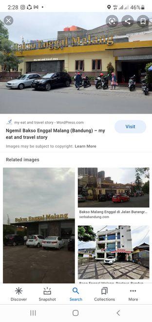 Foto - Makanan di Bakso Enggal Malang oleh Teemy Tee