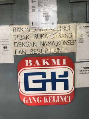 Foto 5 - Interior di Bakmi Gang Kelinci oleh @Sibungbung