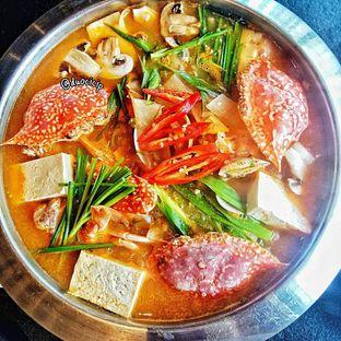 Foto kkotgetang spicy blue crab stew di Noodle King