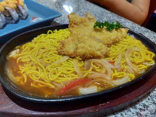 Foto 2 - Makanan(Katsu hotplate ramen) di Ichiban Sushi oleh Komentator Isenk