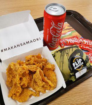Foto review Flip Burger oleh @makansamaoki  1