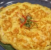 Foto Omelette with prawns di OB Woon