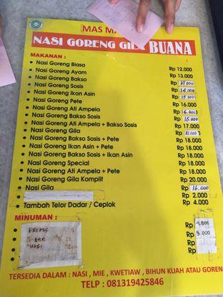 Foto menu di Nasi Goreng Gila Buana Mas Maulud