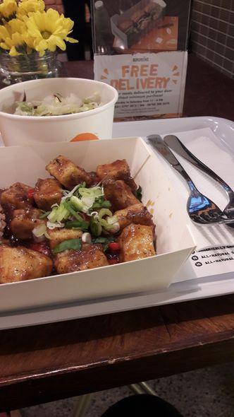 Foto Makanan di Burgreens Express