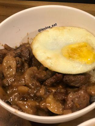 Foto 10 - Makanan(Nasi Wagyu Slice Saos Mushroom Dengan Telor) di Upnormal Coffee Roasters oleh Levina JV (IG : levina_eat )