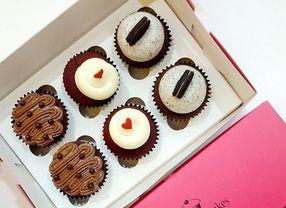 5 Cupcake di Jakarta, Cocok untuk Jadi Bingkisan Manis di Hari Valentine