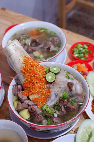 Foto Makanan di Sop Sapi Gosyen
