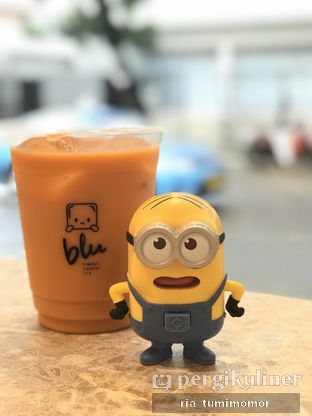 Foto review Blu Cheese Tea oleh Ria Tumimomor IG: @riamrt 1