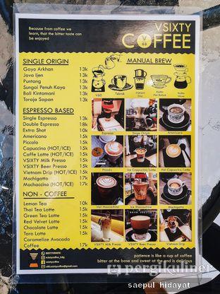 Foto 5 - Menu(Menu) di VSIXTY COFFEE oleh Saepul Hidayat