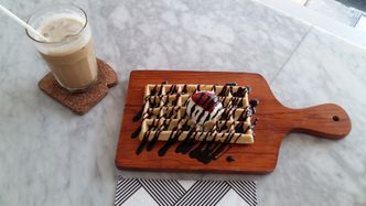 Foto Makanan di All Good (Waffle & Coffee)