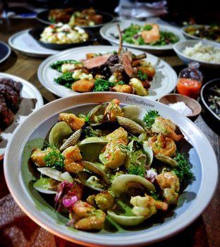 Foto 1 - Makanan(Tiger Prawns a la Planca) di Vong Kitchen oleh Eric  @ericfoodreview