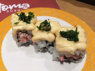 Foto 11 - Makanan(Kani Mayo Mentai Roll) di Tom Sushi oleh Irine