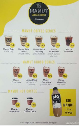 Foto - Makanan di Mamut Coffee & Choco oleh Puti Amalia