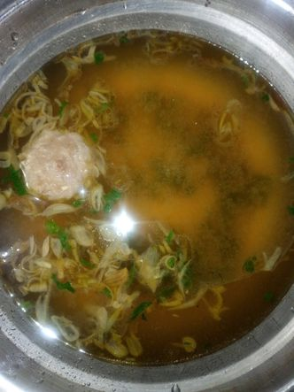 Foto Makanan di Bakso Enggal Malang