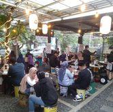 Foto Suasana di sore hari di Atsumaru