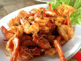 Foto 4 - Makanan(Udang Vaname Teppanyaki) di Bandar Djakarta oleh awakmutukangmakan