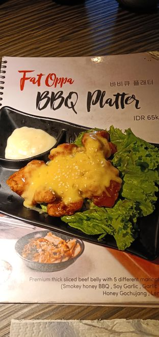 Foto 4 - Makanan di Fat Oppa oleh Henie Herliani