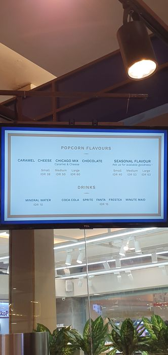 Foto Menu di Chicago Popcorn