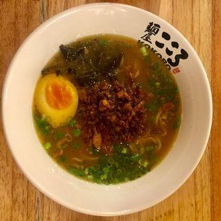 Foto 3 - Makanan(Shoyu Spicy Minci Ramen) di Kokoro Tokyo Mazesoba oleh Elli  Soetomo