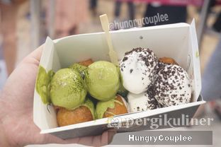Foto 2 - Makanan di Lukumades oleh Hungry Couplee