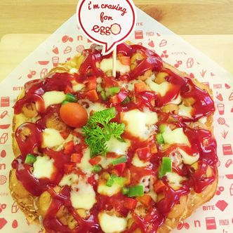 Foto Makanan di Eggo Waffle