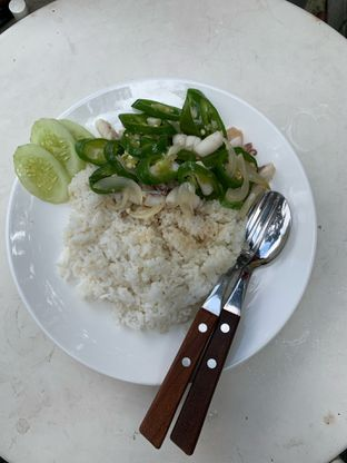 Foto 3 - Makanan(nasi cumi cabe ijo) di Kilogram oleh Yovan Rivanzah