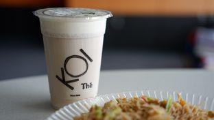 Foto 1 - Makanan(Black Tea Machiato (Medium Size)) di KOI The oleh Chrisilya Thoeng