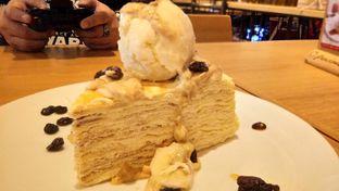 Foto 1 - Makanan(Green tea crepe cakes) di Pancious oleh Komentator Isenk