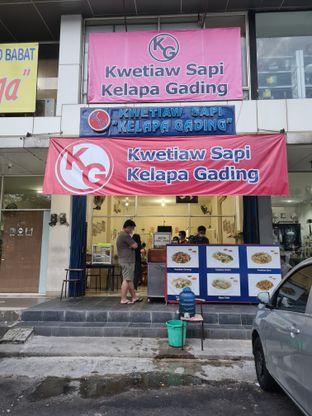 Foto 5 - Eksterior di Kwetiaw Sapi Kelapa Gading oleh Eatandtravelsstory