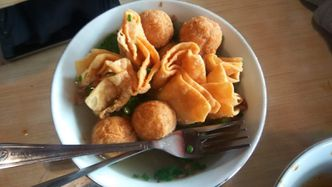 Foto Makanan di Bakso Bakwan Malang Cak Su Kumis