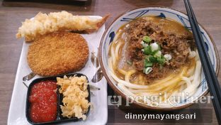 Foto 1 - Makanan di Marugame Udon oleh #kulineraladinny