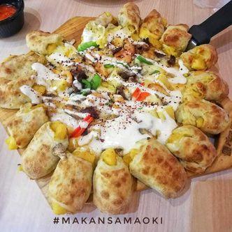 Foto Makanan di Pizza Maru