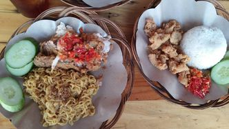 Foto Makanan di Ayam Geprek Master