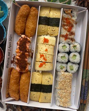 Foto 1 - Makanan di Genki Sushi oleh Levina JV (IG : @levina_eat & @levinajv)