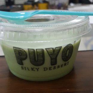 Foto - Makanan(Green Tea) di Puyo Silky Desserts oleh Melania Adriani