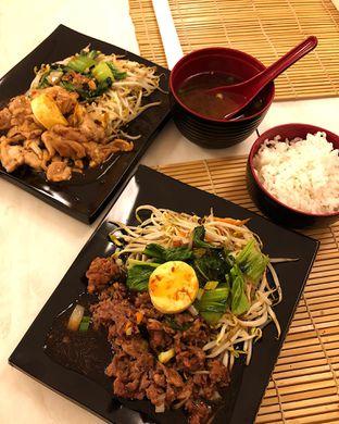 Foto 1 - Makanan(Chicken & slice beef teppanyaki set) di Kokeshi Teppanyaki oleh Claudia @grownnotborn.id