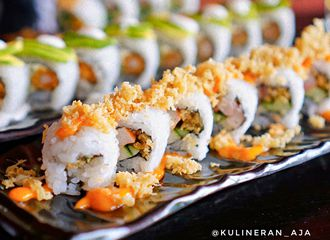 7 Tempat Makan Sushi Enak di Bandung yang Wajib Dicoba