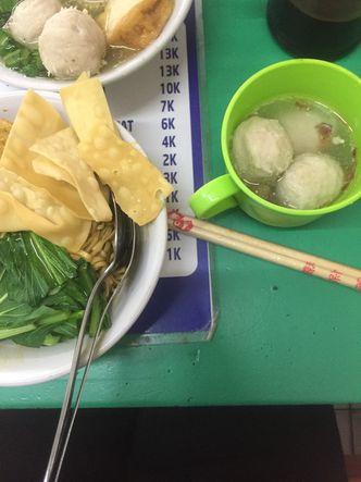 Foto Makanan di Bakso BRI