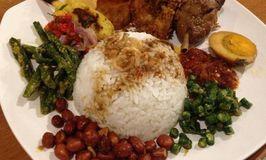 Nasi Ayam Pedas Bali Sambal Matah Ibu Kiky Wayan